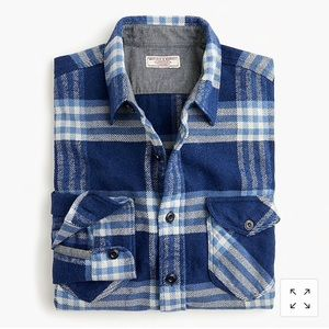 Jcrew Wallace and Barnes Heavyweight Flannel
